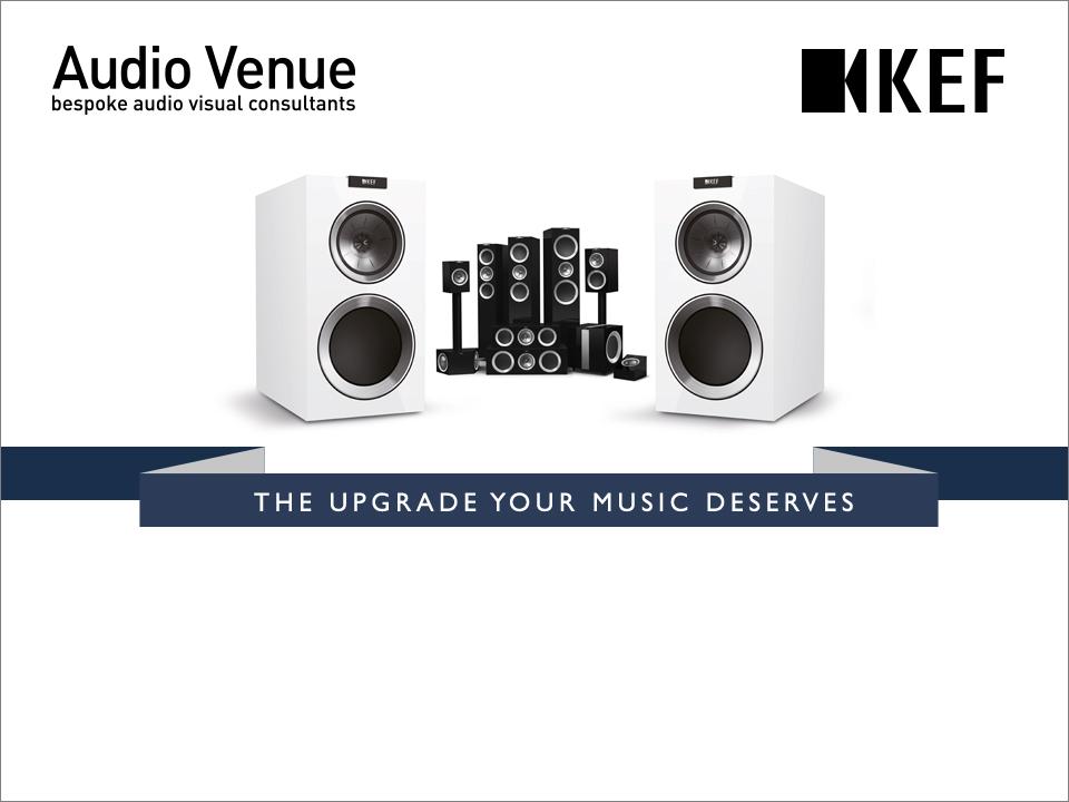 Get 20% off KEF R series when trading in old speakers | Audio Venue