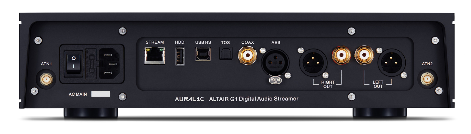 ALTAIR G1 Connection panel