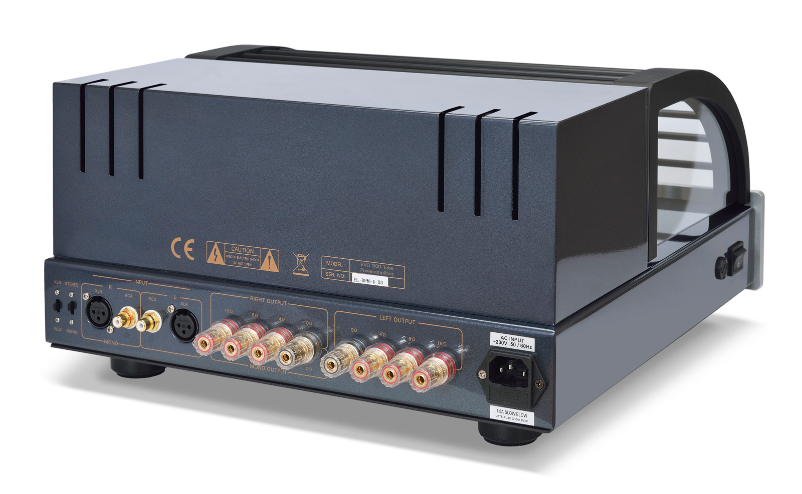 EVO 300 Power Amplifier Specifications