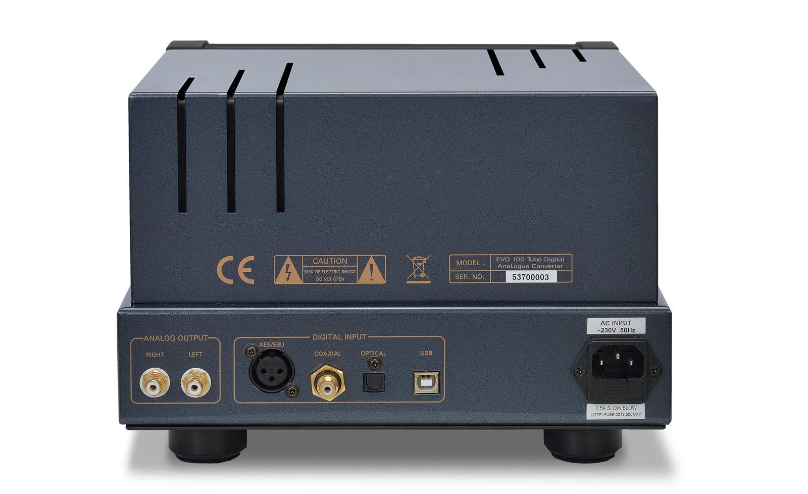 EVO100 DAC inputs