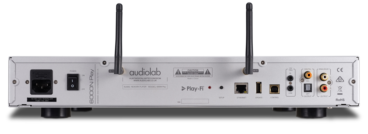 Audiolab 6000N Play Specifications