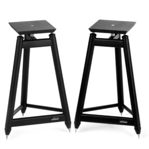 Solidsteel SS Speaker Stands Black