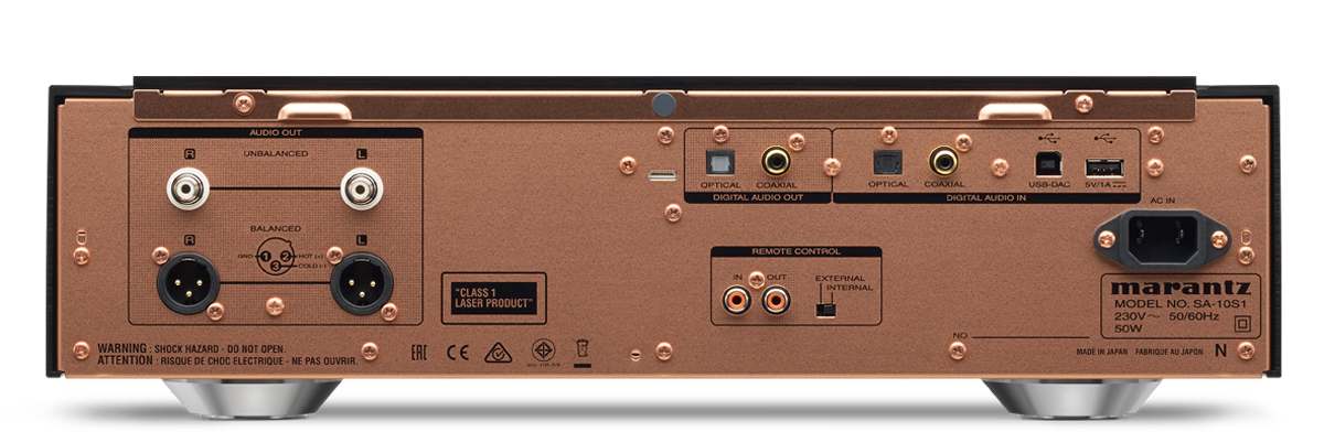 Specifications Marantz SA10