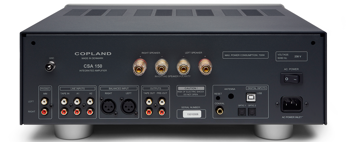 Copland CSA150 Specifications