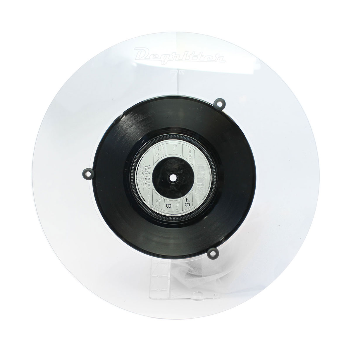 """Degritter 7"""" & 10""""  Record Adapter"""