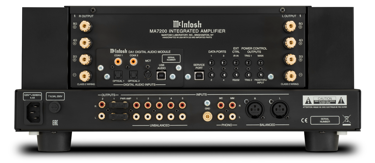 McIntosh MA7200 SPECIFICATIONS