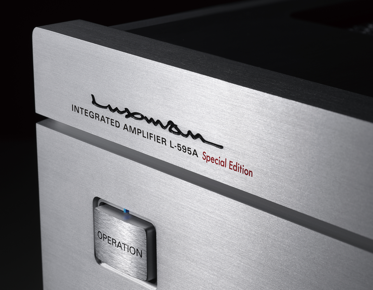 Luxman L-595A Special Edition Close
